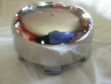 """Edge Wheel Center CAP NEW ED350K92 F111-15 Chrome pop-in 3 1/2"""" diameter"""