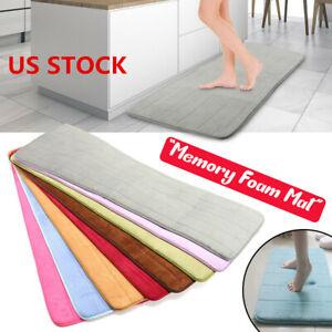 Absorbent Memory Foam Carpet Room Non-slip Bedroom Floor Shower Mat Rug Area Rug