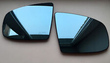Pair of BMW X5 (E70) 2007-2013 side Heated Door Mirror Glass & Backing Plate