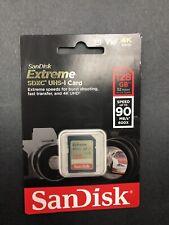 SanDisk Extreme 128GB SDXC UHS-I Card V30 4K UHD (SDSDXVF-128G-GNCIN)