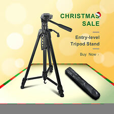 "61"" Camera Camcorder Aluminium Tripod Stand With Bag Quick Release Ajustment Leg"