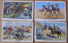 4  Adventure Pictures Gum Cards -  ( un-numbered series )