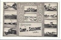 Komplett Set (20 Feldpostkarten) des Lagers von Sissonne (Aisne) (1. Weltkrieg)