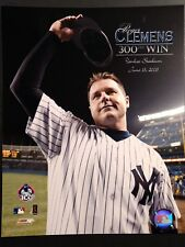 ROGER CLEMENS 300th Win June 13th, 2003  8X10 PHOTO NEW YORK YANKEES
