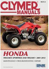 CLYMER MANUAL HONDA TRX250EX SPORTRAX 250 2001-2008, TRX250X 2009 & 2011-2012