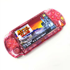 Clear Pink Refurbished Sony PSP-2000 Handheld System Game Console PSP 2000