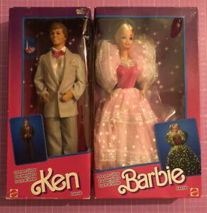BARBIE & KEN 1985 DREAM GLOW  EUROPEAN EXCLUSIVE NRFB
