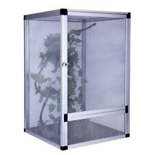 Tank Cage Pet Reptile Enclosure Habitat For Lizard Snake House Alloy42x42x66Cm
