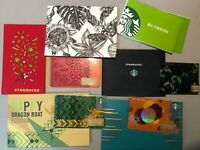 C Starbucks Card China Card MSR Card with matching sleeve pin open