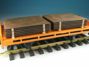 """DUHA 16221 PLATE STEEL STACKS FOR TRUCK TRAILER/TRAIN LOAD FREIGHT 1:24 """"NEW"""""""