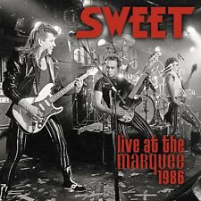 SWEET - LIVE AT THE MARQUEE 1986  CD NEW!