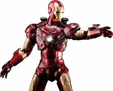 NEW Movie Masterpiece IRON MAN MARK 3 III BATTLE DAMAGE 1/6 ActionFigure HotToys