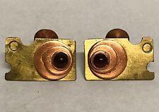 Handmade Brass & Copper Geometric Abstract Modernist CUFFLINKS