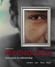 Psychology From Inquiry to Understanding by Lilienfeld