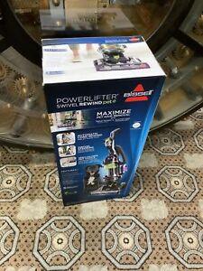 Bissell 2259 PowerLifter Pet Rewind Swivel Bagless Upright Vacuum