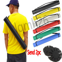 Telescopic Tube Holder Back Archery Arrow Quiver Recurve Compound Bow Hunting
