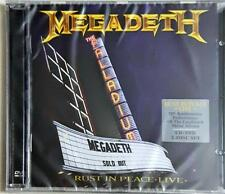 MEGADETH - Rust In Peace - Live Cd + Dvd Sigillato Sealed