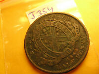 1844 Bank Of Montreal Canada Half Penny Rare Token Date not Visible IDJ#354.