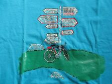 Fruit Label LOIRE VALLEY ALSACE IRELAND SWISS LAKES TRAVENT Bicycle (LG) T-Shirt