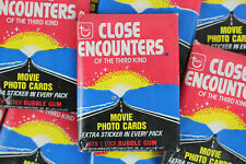 Topps Close Encounters of the Third Kind Trading Cards, One Wax Pack, 1978