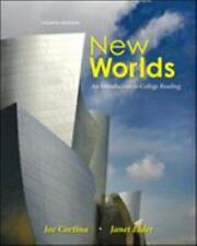 New Worlds : An Introduction to College Reading by Janet Elder and Joe...