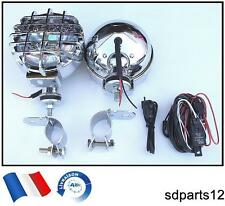 168mm 2 phares anti-brouillard 931XE kit de cablage et supports 4x4 offroad toit