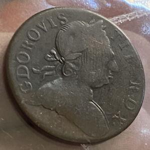 George  1/2 Penny 1771 Non Regal !