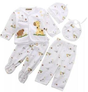 5 Teile Neugeborenen Set Kleidung Baby Kleidung