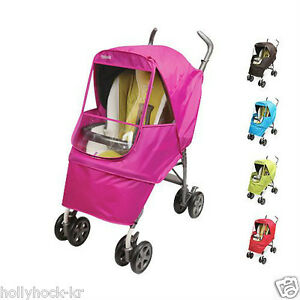 Manito Elegance Alpha Baby Stroller Weather Shield Eye Protective Rain Cover