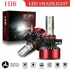 H16(EU) 5202 LED Headlight Fog Light Conversion Kit Super Bright 6000K White