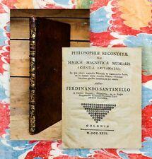 1723 Alchemie occulta Dubrovnik Croatia Santanelli Philosophiae explanatio