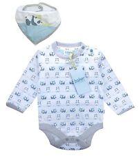 Ted Baker Baby Boy Babygrow Bodysuit Vest Bib Panda Designer 12-18 Months