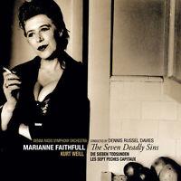 Marianne Faithfull - The Seven Deadly Sins (2018)  CD  NEW/SEALED  SPEEDYPOST