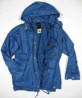 G-Star Herren Mantel New Correct Parka Large Fisher Blue Jacke Anorak Trenchcoat