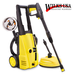 Wilks-USA Nettoyeur Haute Pression RX510 - Puissant / Compact, 1800W, 135 Bar