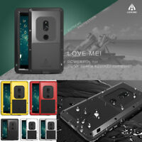 For Sony Xperia XZ2 / XZ2 Compact LOVE MEI Metal Aluminum Waterproof Case Cover
