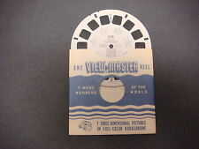 Sawyer's Viewmaster Reel,1951,Gaspe Peninsula,Quebec Canada,388,Town of Gaspe