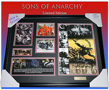 NEW!! SONS OF ANARCHY MEMORABILIA FRAME SIGNED,  LIMITED EDITION TO 499 w/ COA
