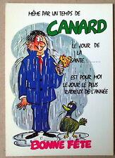 Carte postale Humour,bonne fête,temps de canard,vintage ,CPSM