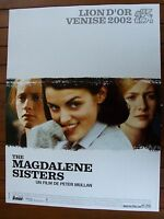 AFFICHE - THE MAGDALENE SISTERS GERALDINE McEWAN ANNE MARIE DUFF PETER MULLAN
