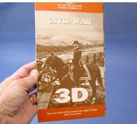 Civil War in 3D - 9 stereoscopic images + folding stereo viewer - NEW nice gift