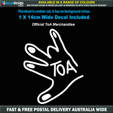 The Shawry Salute Limited Editon Vinyl Decal Official ToA Merchandise #TOA23