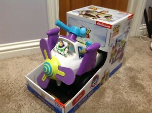 Disney Pixar Toy Story Sit And Ride Activity Plane NEW AND SEALED