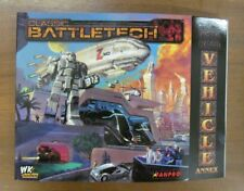 Classic Battletech: Tech Readout Vehicle Annex  (fanpro 35022)
