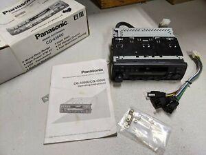 NOS Vintage Panasonic CQ-4300U Car Stereo Cassette Player Weather Band AM/FM