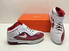Nike Air Max Soldier V 5 TB Lebron Basketball White Red Sneakers Shoes Womens 9