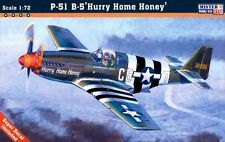 P 51 B-5 MUSTANG 'FRETTA HOME MIELE' (USAAF ACES MARCATORI) 1/72 MISTERCRAFT