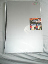 Audi A3 range brochure Jun 1996