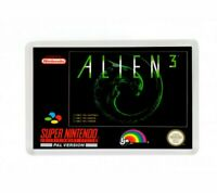 ALIEN 3 SUPER NINTENDO FRIDGE MAGNET IMAN NEVERA