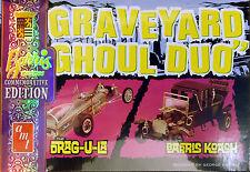 AMT 1/25 Graveyard Ghoul Duo Drag-U-La Barris Koach Two In One PLASTIC KIT 1017